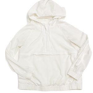 LULULEMON White Mesh Windbreaker Jacket Packable